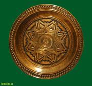 Настенные тарелки из дерева,  декоративные тарелки. Интернет магазин