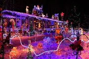 новогоднее оформление дома,  продажа гирлянд,  новогодняя елка Киев