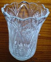 Продается хрустальная ваза