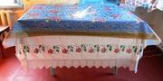 Скатертина вишита для стола, стародавня.№2