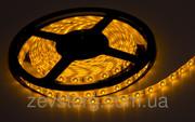Светодиодная (LED) лента 60SMD(3528) 12V 5м. Желтый цвет
